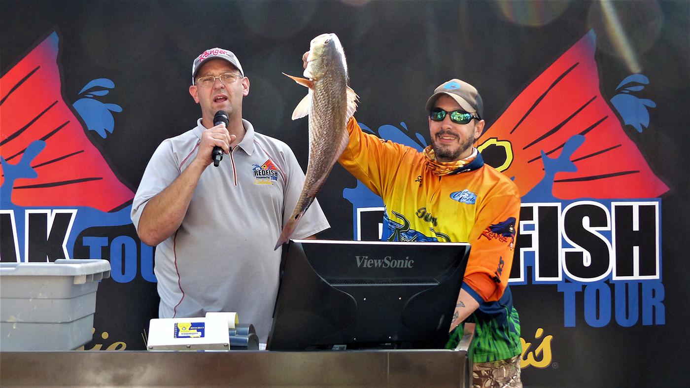 Steven Phillips 2017 Redfish Winner